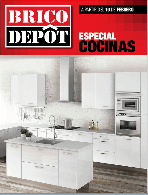 Cat logo brico depot cocinas 2017 for Brico depot cocinas 2014
