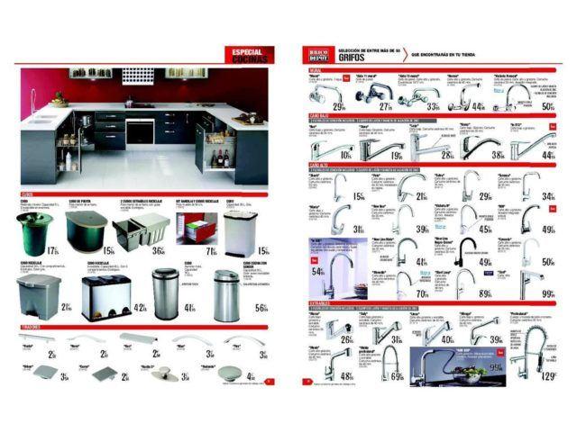 Brico Depot Cocinas 2019: Catálogo anual y ofertas