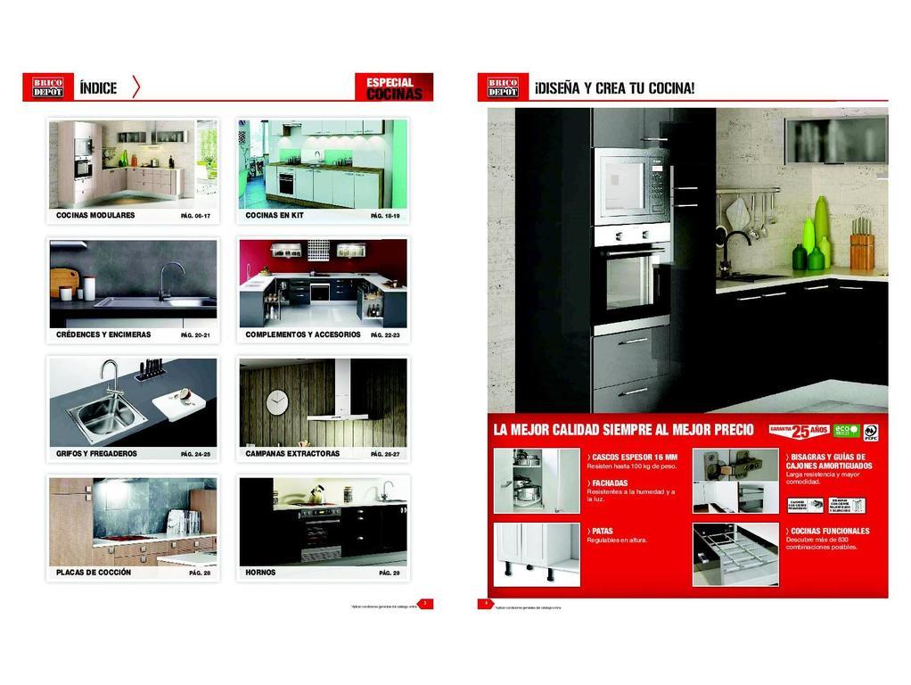 cat logo brico depot cocinas 2018. Black Bedroom Furniture Sets. Home Design Ideas