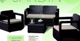 Catálogo Carrefour muebles de jardín 2018