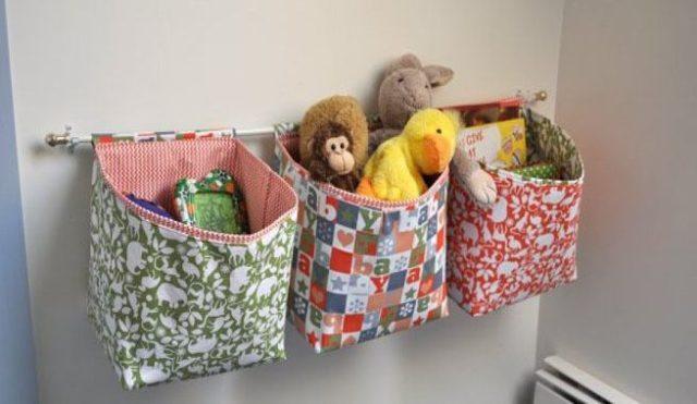 Ideas para guardar juguetes muebles cajas y ba les - Cestas para guardar juguetes ...