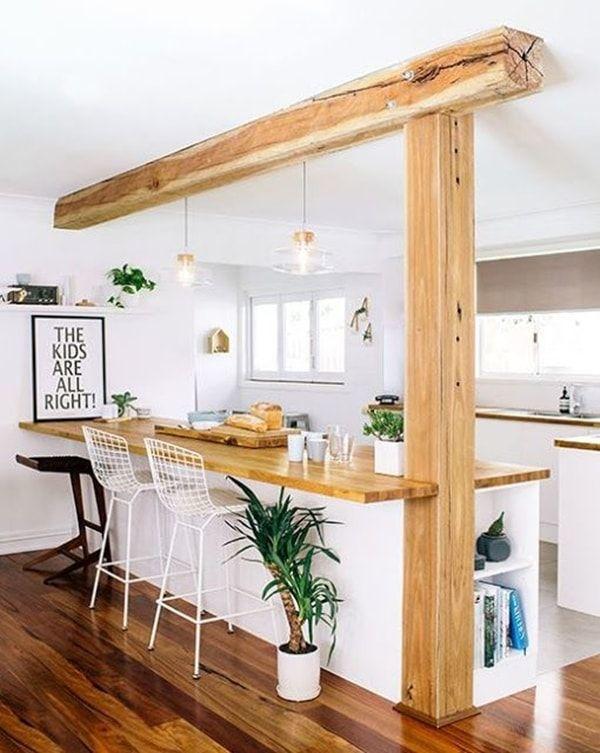 cocinas-con-barra-de-madera-con-iluminacion