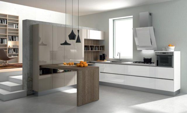 cocinas-con-barra-minimalista