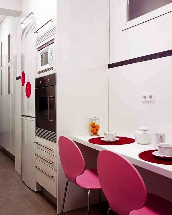 Cocinasmodernasminimalistas homedesign t doors for Amueblar cocina alargada