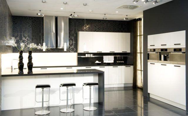 M s de 100 ideas de modelos de cocinas empotradas 2018 - Cocinas con estilo moderno ...