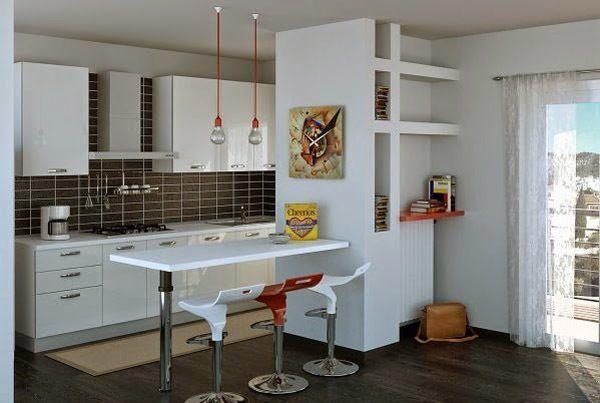 M s de 30 ideas de cocinas en l modernas for Cocinas en forma de l