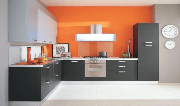 Incroyable Cocinas En L Naranja