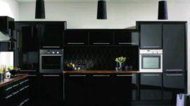 Más de 25 fotos con ideas de cocinas negras