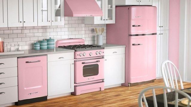 cocinas-rosas-electrodomesticos-rosas