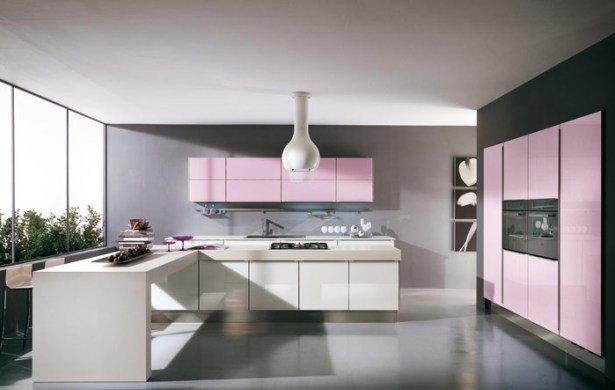 cocinas-rosas-negro-blanco