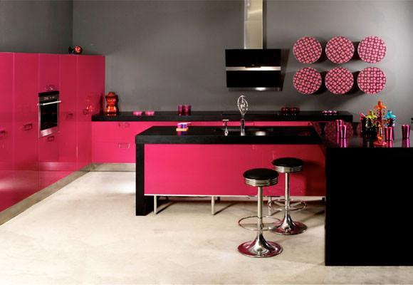 cocinas-rosas-negro