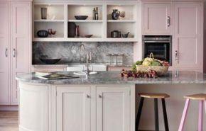 Más de 25 fotos con ideas de cocinas rosas