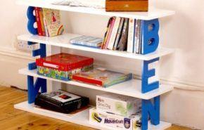 Decora las paredes del dormitorio infantil con letras