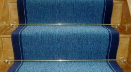 4 ventajas de alfombrar las escaleras