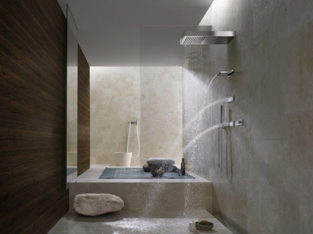 Fotos con dise os de ba os de lujo for Banos con tina y ducha