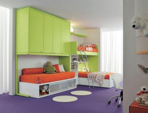 Decoracion de cuartos mixtos infantiles - Dormitorios infantiles mixtos ...