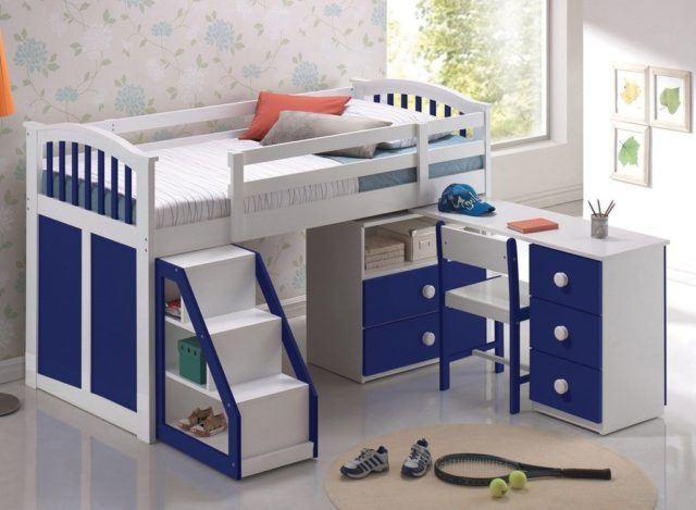 M s de 20 ideas de dormitorios infantiles 2019 for Camas infantiles diseno moderno