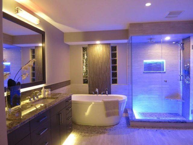 Luces De Baño | Iluminacion Para Banos Pequenos Y Modernos