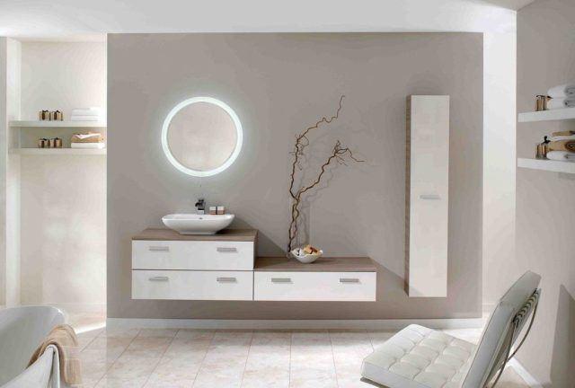 Iluminaci n para ba os peque os y modernos for Salle de bain elegante