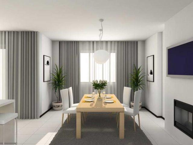 Los colores de moda para la casa en 2018 for Colores de cortinas