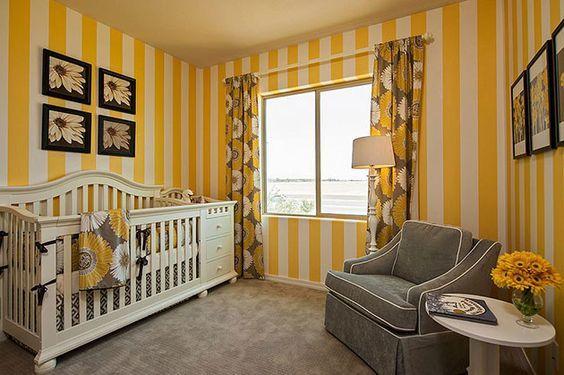 Colores para cuartos de bebés recién nacidos 2018 - espaciohogar.com
