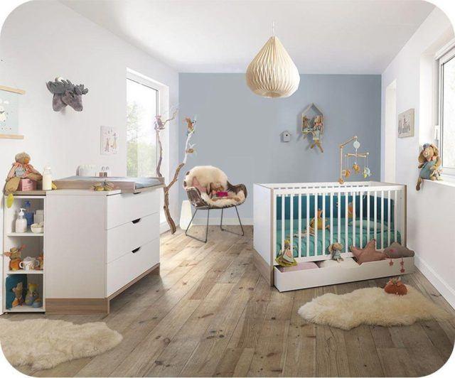 Colores para cuartos de beb s reci n nacidos 2018 for Habitacion bebe moderna
