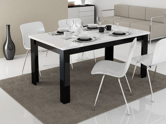 Fotos de comedores peque os y minimalistas para vuestra casa for Sillas estilo moderno