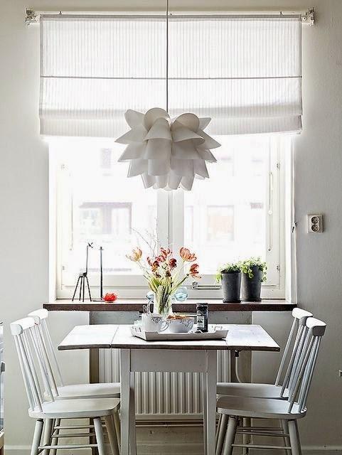 Fotos de comedores peque os y minimalistas para vuestra casa for Comedor pequeno moderno