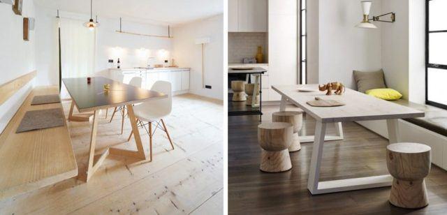 Fotos de comedores peque os y minimalistas para vuestra casa - Comedores modernos para espacios pequenos ...