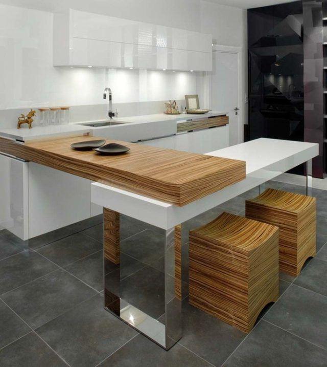 Fotos de comedores peque os y minimalistas para vuestra casa for Comedores para cocinas pequenas