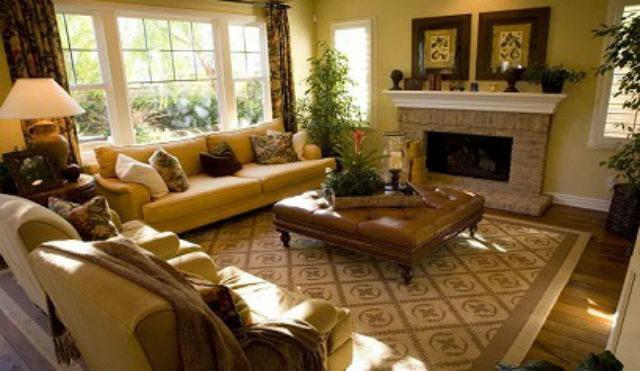 Decoraci n de salones coloniales colores muebles y consejos - Lamparas estilo colonial ...