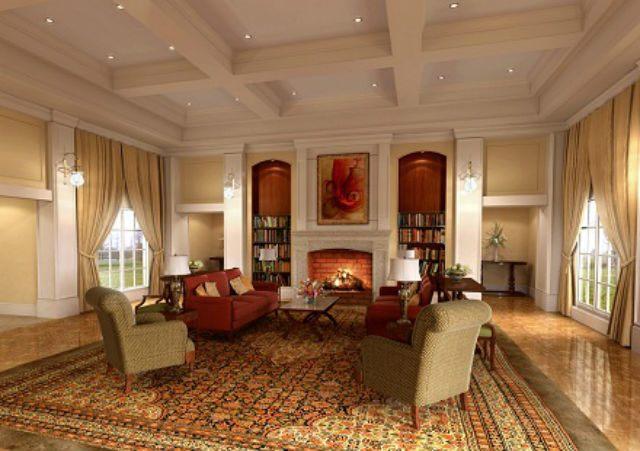 Decoraci n de salones coloniales colores muebles y consejos - Decoracion salones colores ...