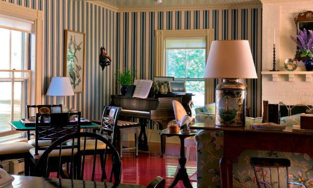 Decoraci n de salones coloniales colores muebles y consejos - Salon colonial design ...