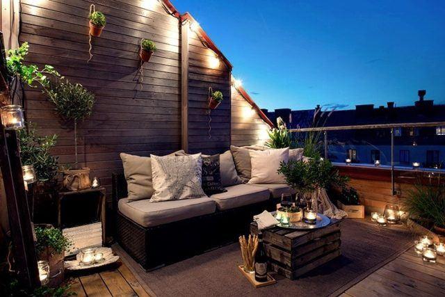 De 100 Fotos De Decoración De Terrazas Y Balcones Pequeños Y