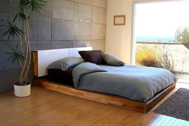 Mas De 20 Fotos De Dormitorios Minimalistas Para Inspiraros - Cama-minimalista