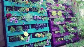 Más de 50 fotos de jardines decorados con palets