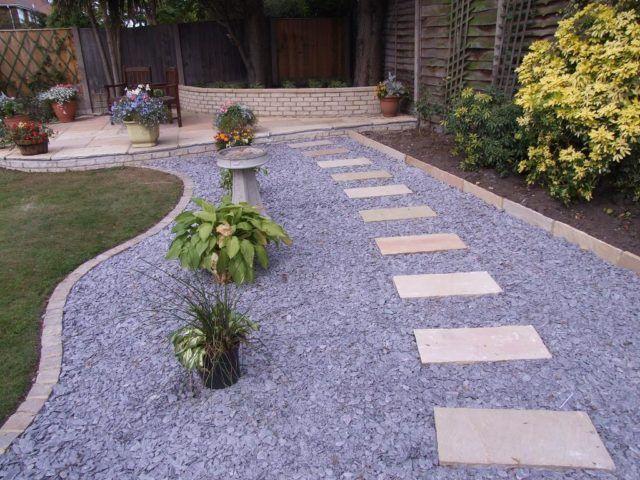 M s de 20 fotos de jardines con piedras que os van a encantar for Piedras para jardin