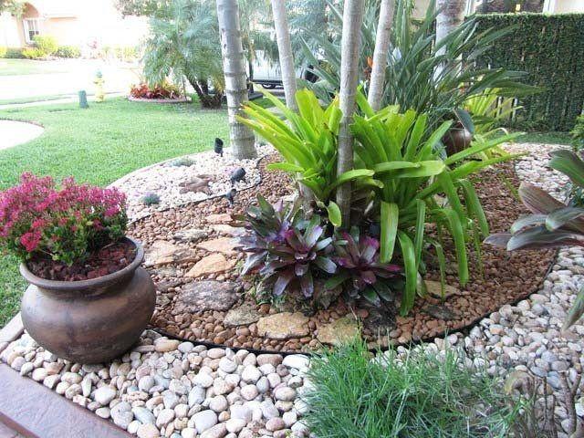 M s de 20 fotos de jardines con piedras que os van a encantar for Jardines modernos con piedras