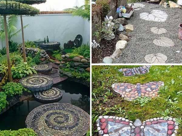Mas De 20 Fotos De Jardines Con Piedras Que Os Van A Encantar - Jardin-con-piedras