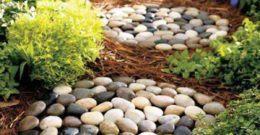 Más de 20 fotos de jardines con piedras que os van a encantar