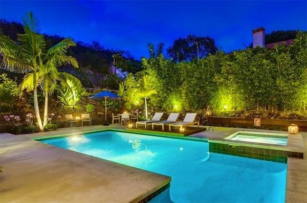 jardines con piscina De 20 Fotos De Jardines Con Piscina Lujosos