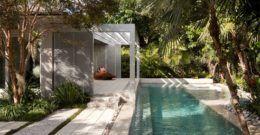 Más de 20 fotos de Jardines con Piscina de Lujo