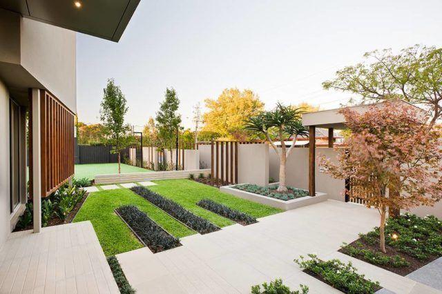 ms de 20 ideas de jardines minimalistas