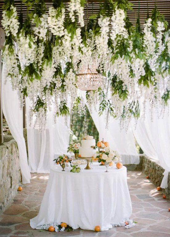 M s de 35 fotos de bonitos jardines para bodas - Decoracion de bodas en jardines ...