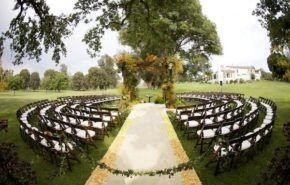 Más de 35 fotos de bonitos jardines para bodas