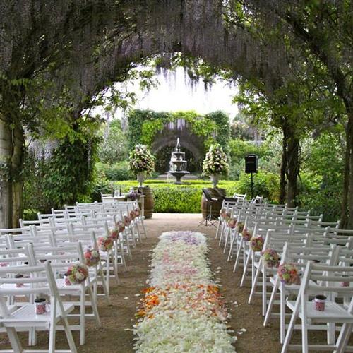 De 35 fotos de bonitos jardines para bodas - Fotos de jardines decorados ...
