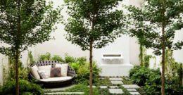 Ideas para decorar jardines pequeños y modernos