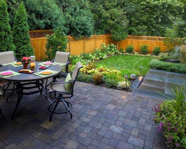 M s de 25 fotos de jardines peque os con encanto - Iluminacion jardines pequenos ...