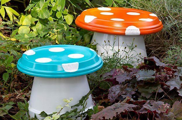 30 Ideas Para Decorar El Jardin Con Cosas Recicladas Espaciohogarcom - Ideas-para-reciclar-cosas