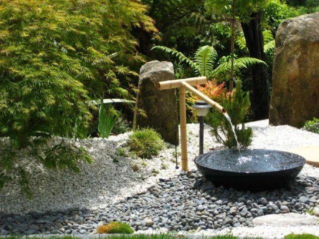 M s de 30 fotos de jardines sencillos con encanto - Fuentes para jardin leroy merlin ...